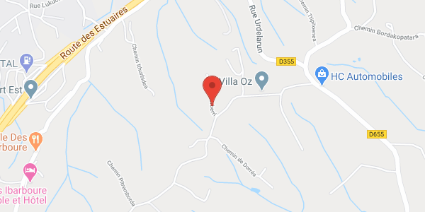 Location Maison Cote Basque entre Guéthary et Bidart
