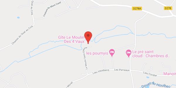 Gîte Le Moulin des 4 Vaux