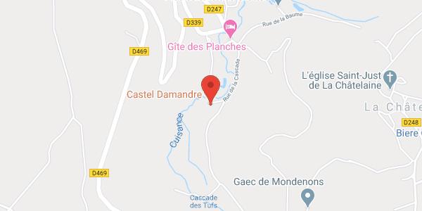 Le CASTEL DAMANDRE