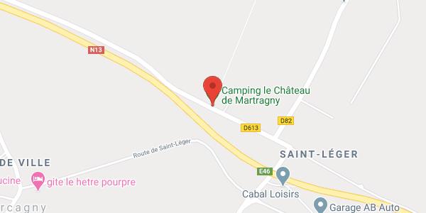 Le Château de Martragny  (3 gîtes)