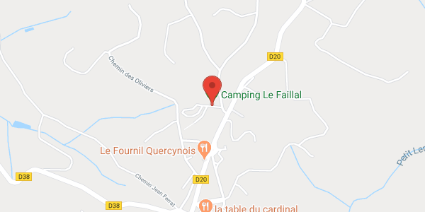 Camping LE FAILLAL 4-6 personnes