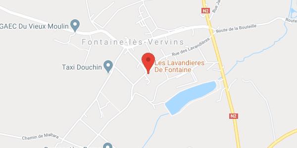 Les Lavandières de Fontaine, gîtes, chambres d'hôtes et restaurant