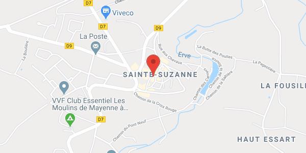 Gîte Les Fiancés de Sainte Suzanne