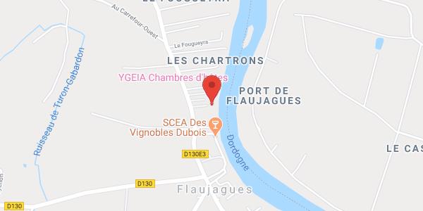 YGEIA Maison d'hôtes sur la Dordogne