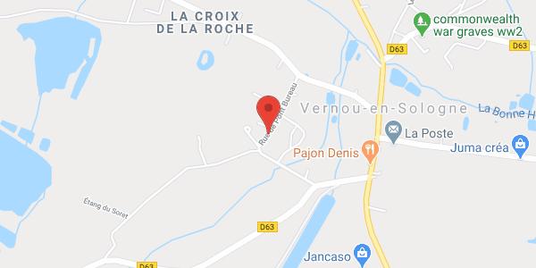 Roulotte à Vernou-en-Sologne