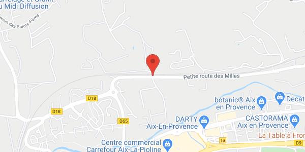 Castel du XIX  à Aix- en- Provence