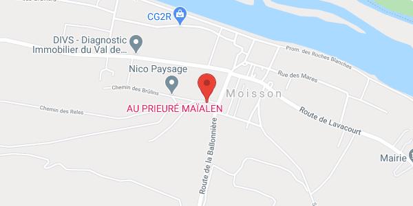 Le Prieure Maïalen - Contact 01 34 79 37 20