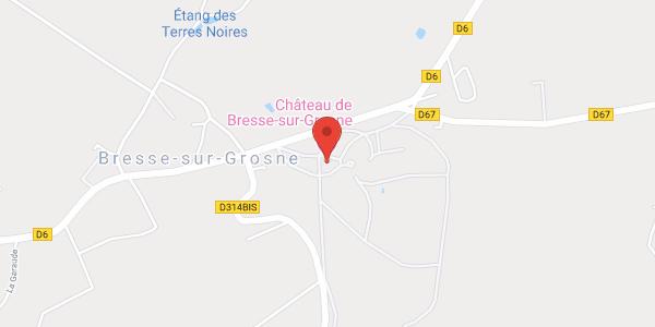 Château de Bresse sur Grosne
