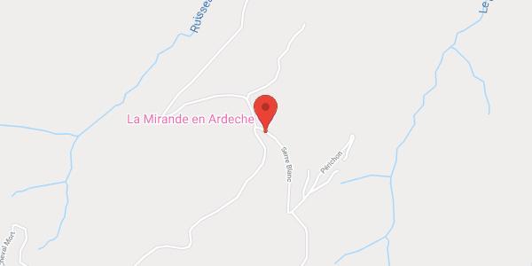La Mirande en Ardèche