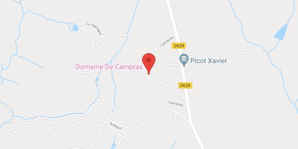Domaine de Campras CARCASSONNE SAISSAC