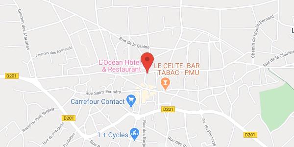 Hôtel Restaurant l'Océan ***