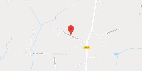 Gîte de la Vionnière-Taceau