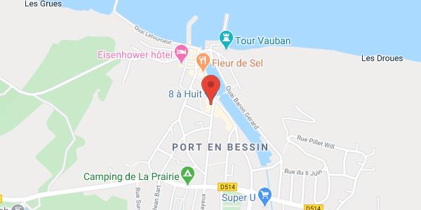 Les Filles du Bord de Mer (4 maisons vue mer et 4 apts côté port)
