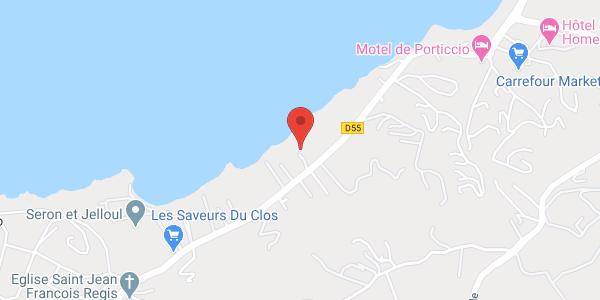Location Villa Porticcio