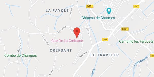 Gîte La Crefsane