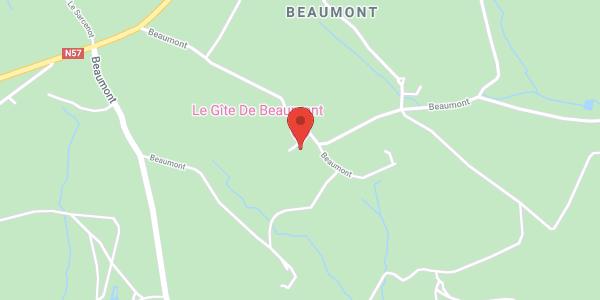 Le Gîte de beaumont à Fougerolles (70220). Vosges Saônoises