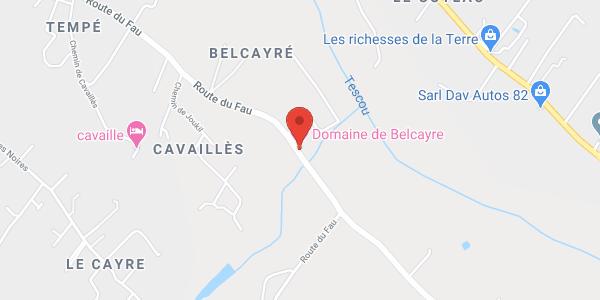 Domaine de Belcayre, Montauban