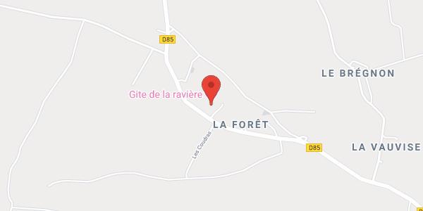 Gîte de la Ravière