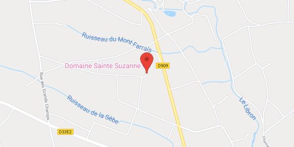 Domaine Sainte Suzanne classé 4 étoiles, 1 2 3 4 5  étoiles de France