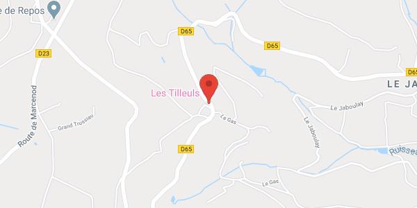 """Gîte rural  """"LES TILLEULS"""""""