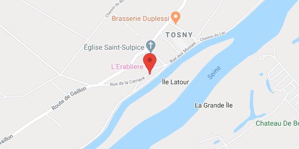 L'Erablière , maison d'hôtes proche de Giverny en bord de Seine