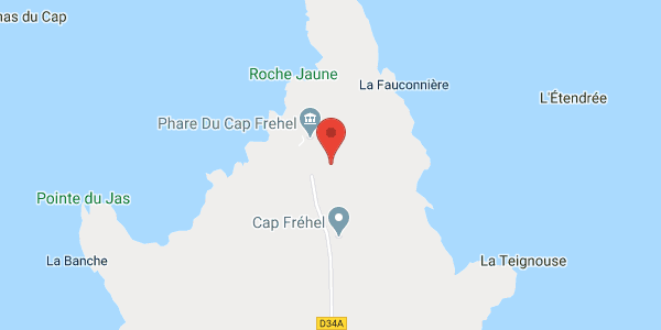 Gîte 6/8 pers. proche des plages du Cap Frehel à PLEVENON AVEC WIFI