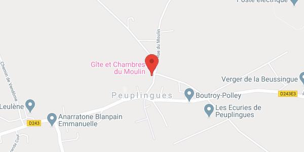 CHAMBRES DU MOULIN