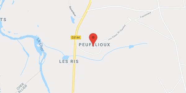 Le Château de Peufeilhoux