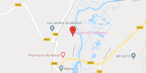 Chambres d'hôtes au Vieux Moulin de Mareuil