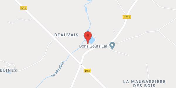 Gîte de L'Etang du Moulin de Beauvais