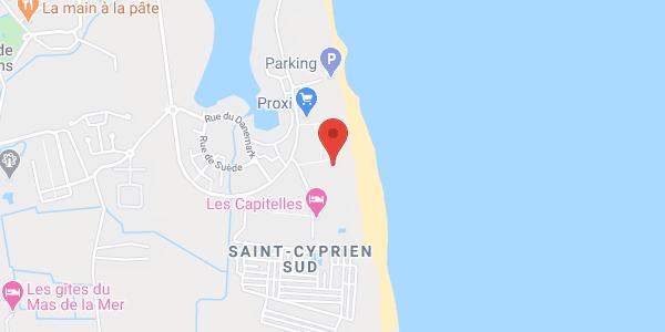 3 Résidences de 6 Personnes avec Piscine à Saint-Cyprien Plage - 6 à 18 personnes